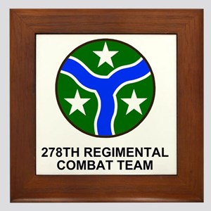 ARNG-278th-RCT-Shirt Framed Tile