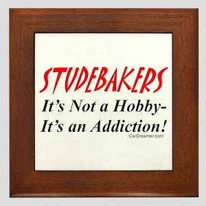 Studebaker Addiction Framed Tile