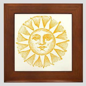 Sunny Day Framed Tile