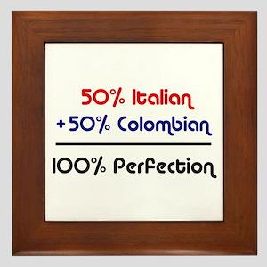 Italian & Colombian Framed Tile
