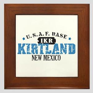 Kirtland Air Force Base Framed Tile