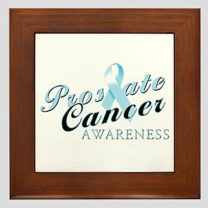 Prostate Cancer Awareness Framed Tile