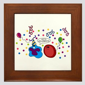 Let's Cellebrate Framed Tile