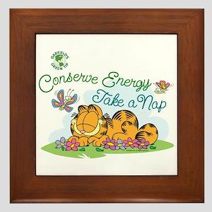 Conserve Energy Framed Tile