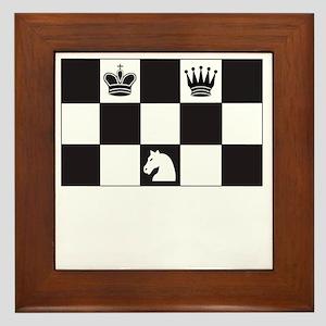 Royally Forked Framed Tile