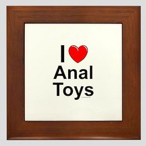 Anal Toys Framed Tile