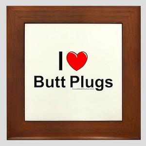 Butt Plugs Framed Tile