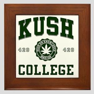 KUSH_COLLEGE_ Framed Tile