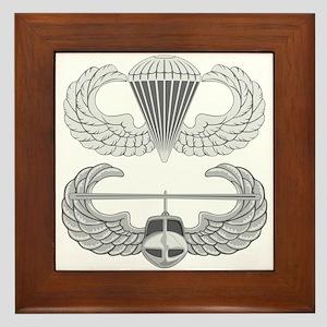 Airborne and Air Assault Framed Tile