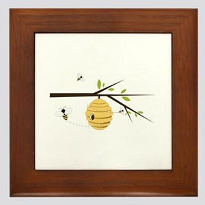 Beehive Framed Tile