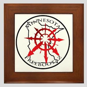 Minnesota Freebootaz Framed Tile