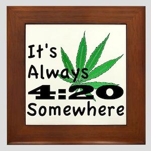 420 Framed Tile
