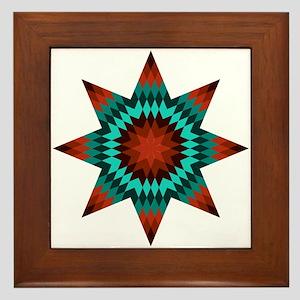 Native Stars Framed Tile