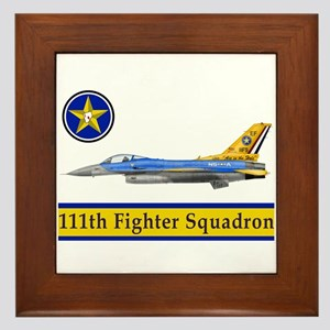 111th Fighter Squadron Framed Tile