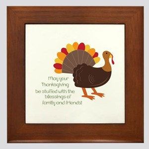 May Your Thanksgiving Framed Tile