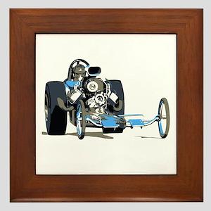Vintage Top Fuel 1 Framed Tile
