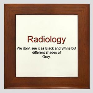Radiology Framed Tile
