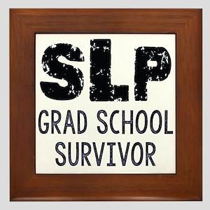 Slp Survivor Framed Tile
