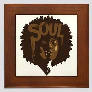 Soul Fro Framed Tile