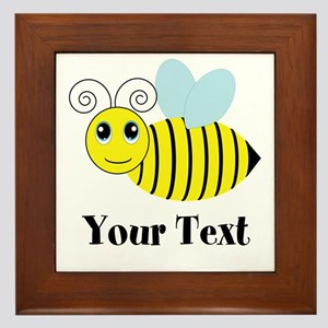 Personalizable Honey Bee Framed Tile