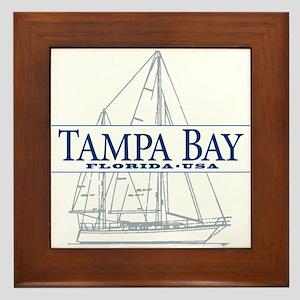 Tampa Bay - Framed Tile