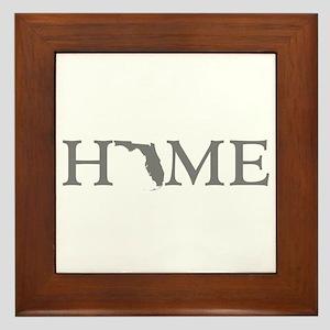 Florida Home Framed Tile