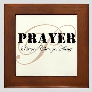 Prayer Framed Tile