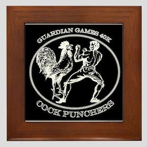 Guardian Games 40K Cock Punchers Framed Tile