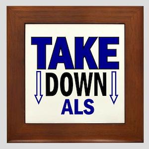 Take Down ALS 1 Framed Tile