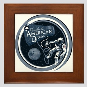 American Dream Framed Tile