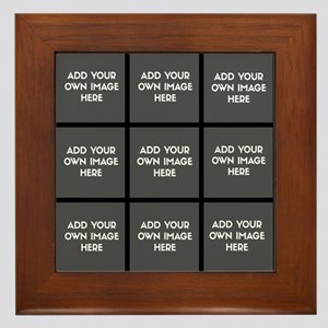 Add Your Own Images Collage Framed Tile