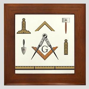 Working Tools No. 5 Framed Tile
