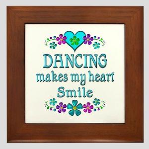 Dancing Smiles Framed Tile
