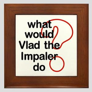 Vlad the Impaler Framed Tile