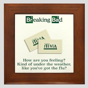 Breaking Bad Stevia Framed Tile