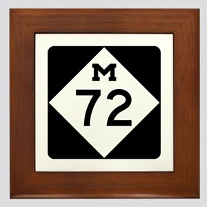 M-72, Michigan Framed Tile