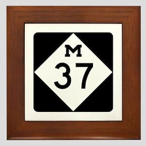 M-37, Michigan Framed Tile