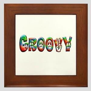 GROOVY Framed Tile