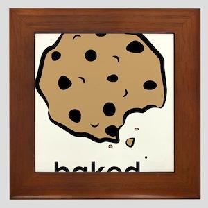 Baked. Framed Tile