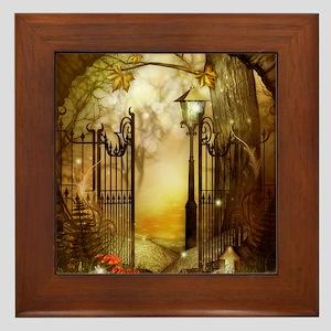 Fairy Woodlands 8 Framed Tile