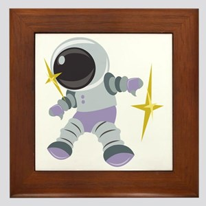 Future Astronaut Framed Tile