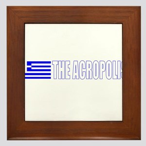 The Acropolis Framed Tile