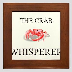 The Crab Whisperer Framed Tile