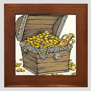 Treasure Framed Tile