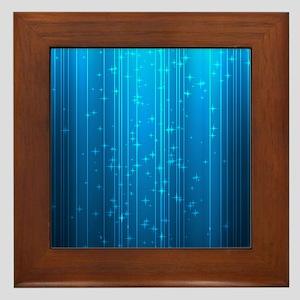 Magical Stars Framed Tile