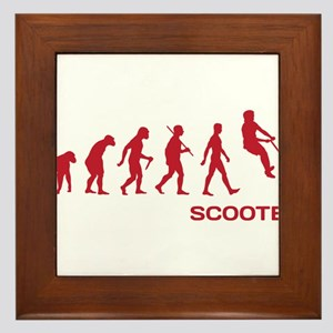 Darwin Ape to man Evolution Push Kick Scooter Fram