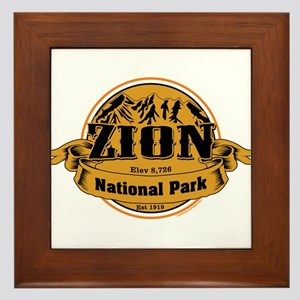 Zion Utah Framed Tile