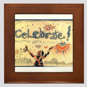 Celebrate! Framed Tile
