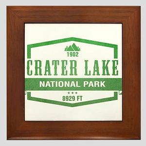 Crater Lake National Park, Oregon Framed Tile