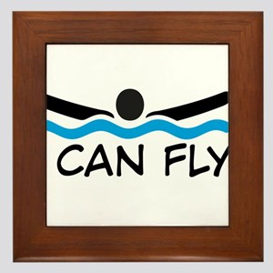 I can fly Framed Tile
